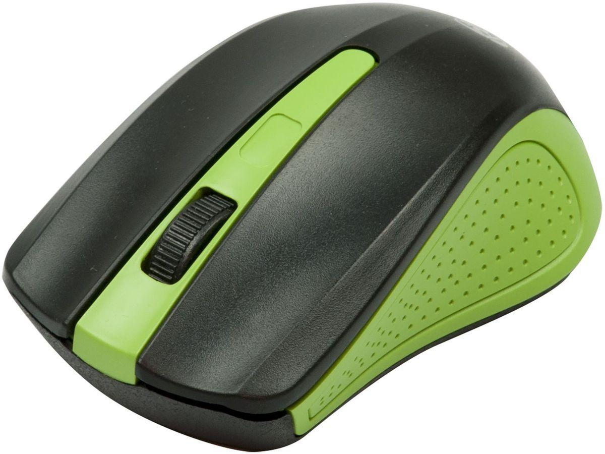 Zakazat.ru Ritmix RMW-555, Black Green мышь