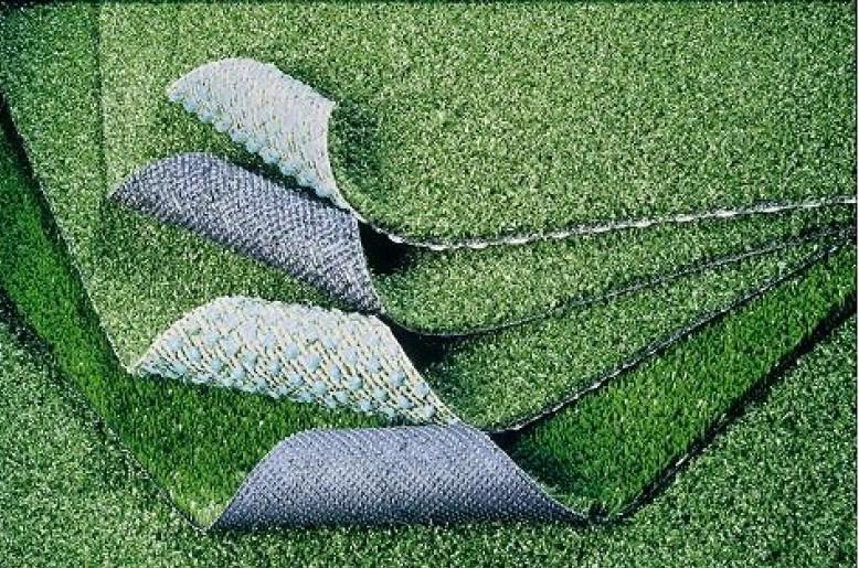 Коврик SunStep Искусственная травка, 133 х 400 см70-033Коврик искусственная травка 133х400 см, SUNSTEP™