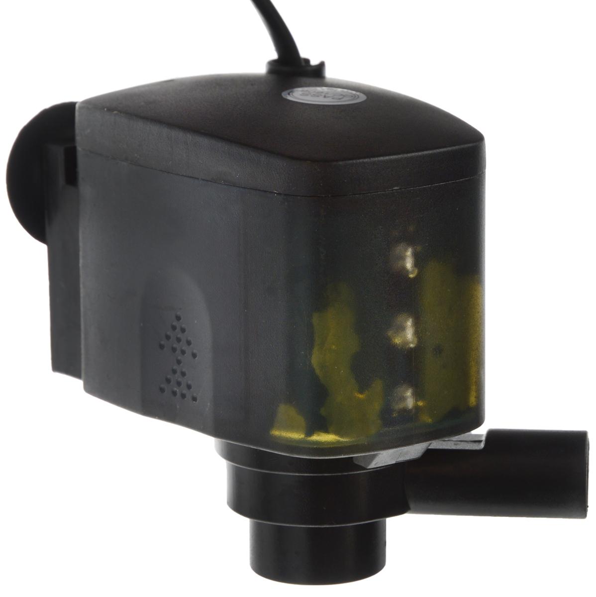 Помпа для аквариума Barbus LED-188, водяная, с индикаторами LED, 1200 л/ч, 20 Вт светильник для аквариума aqualighter pico soft led гибкий корпус цвет розовый 10 л