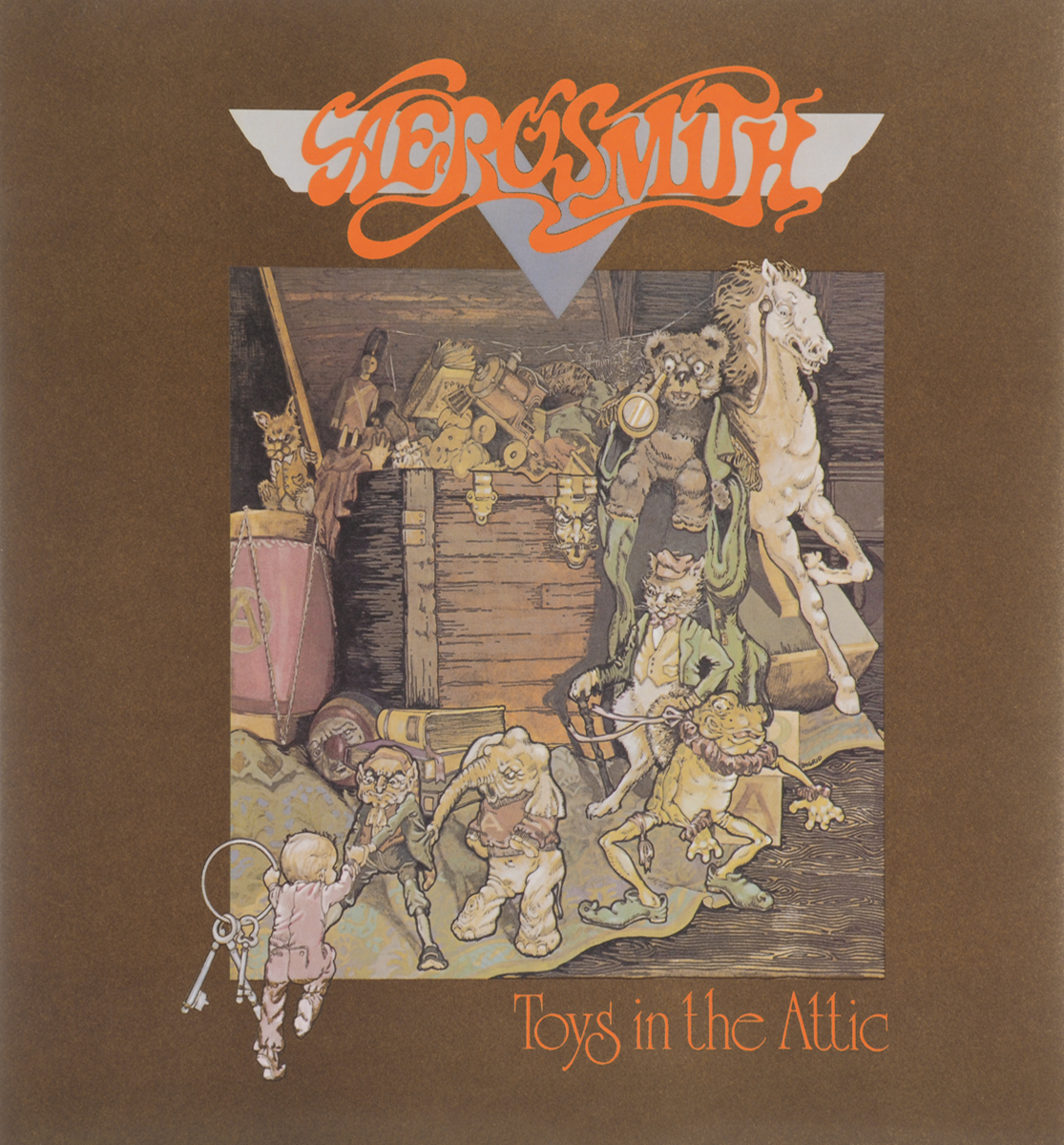"""Aerosmith"" Aerosmith. Toys In The Attic (LP)"