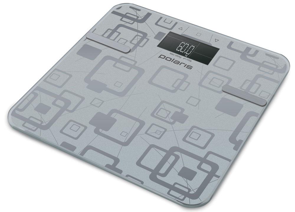 Polaris PWS 1834DGF весы напольныеPWS 1834DGFPolaris PWS 1834DGF - напольные весы, выполненные в стильном дизайне. Одновременно с этим вас удивит и функциональность данного устройства: теперь вы легко сможете контролировать свой вес, а значит, вести здоровый образ жизни. Для вашего удобства в весах предусмотрена возможность с высокой точностью определять массу тела в килограммах, фунтах и стоунах.Платформа данной модели выполнена из высокопрочного закаленного стекла, что позволит использовать весы годами и не переживать за их сохранность. Максимально допустимый вес - 180 кг. Все данные отобразятся на удобном жидкокристаллическом дисплее. Для того, чтобы сохранить заряд батареи в весах используется функция автоматического отключения.Сенсорная система для максимально точного определения весаАвтоматическая установка нуляАвтоматическое обнуление результатаПрорезиненные ножкиЗакругленные безопасные углы платформыЭксклюзивный зеркальный принт