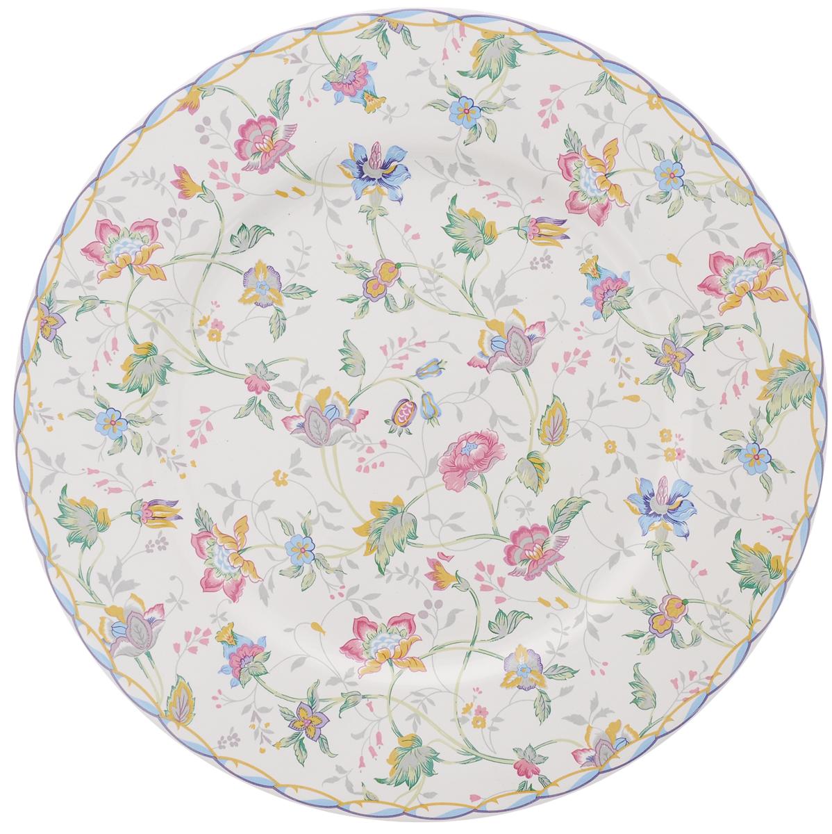 Тарелка House & Holder, диаметр 23 смLUNA09-1109/1Тарелка House & Holder сочетает в себе изысканный дизайн с максимальной функциональностью. Красочность оформления придется по вкусу и ценителям классики, и тем, кто предпочитает утонченность и изысканность. Тарелка выполнена из фаянса. Оригинальный рисунок придает набору особый шарм, который понравится каждому.Диаметр тарелки: 23 см.