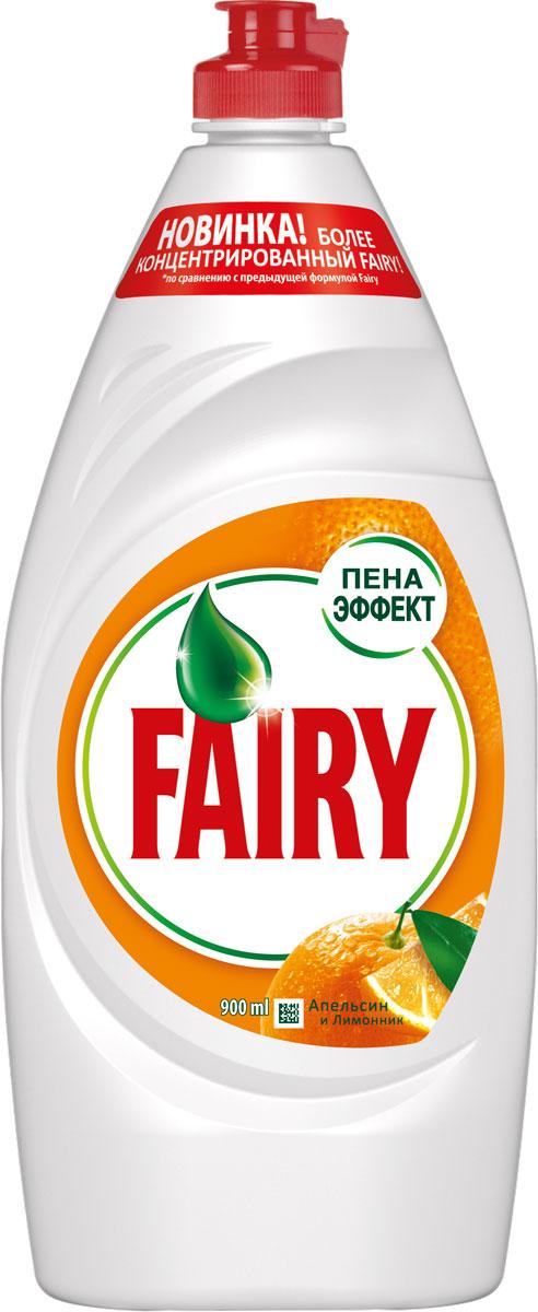 Средство для мытья посуды Fairy Апельсин и лимонник, 900 млFR-81573194Средство для мытья посуды Fairy Апельсин и лимонник с легкостью удалит даже самые сложные загрязнения без особых усилий. Новая, более концентрированная формула с пена-эффектом глубоко проникает в жир и расщепляет его изнутри, позволяя отмыть в 2 раза больше посуды. Активные компоненты настолько эффективны, что запросто растворят жир даже в холодной воде.Fairy - безопасный продукт, разработанный в европейском научно-исследовательском центре (Brussels Innovation Centre) и полностью соответствующий ГОСТу РФ. Основные преимущества:- Отмывает в 2 раза больше посуды - Быстро справляется с засохшим жиром - Мягкий для рук - Полностью смывается водойТовар сертифицирован. Как выбрать качественную бытовую химию, безопасную для природы и людей. Статья OZON Гид