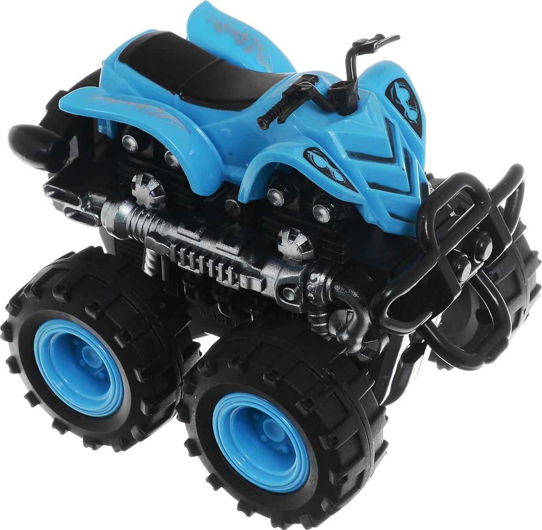 Big Motors Квадроцикл инерционный 4 WD цвет синий б у квадроцикл челябинске