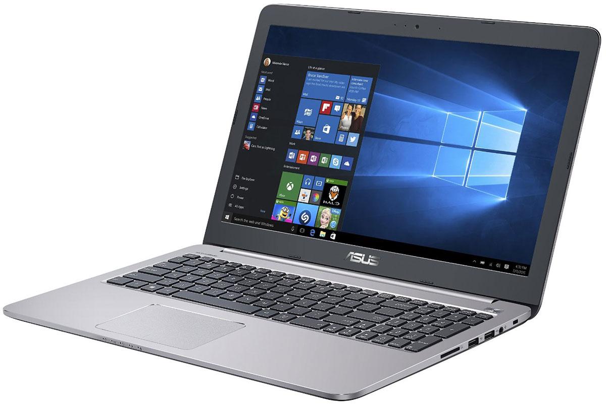 ASUS K501UX (K501UX-DM282T), GreyK501UX-DM282TНадежный и комфортный в работе ноутбук Asus K501UX выполнен в современном корпусе с красивой отделкой.Asus K501UX отлично подходит и для работы с офисными программами, и для запуска мультимедийных приложений. В его аппаратную конфигурацию входят процессоры Intel Core, современное графическое ядро и высокоскоростной интерфейс USB 3.0. Ноутбук гарантирует моментальный выход из режима сна и комфортную работу практически в любых приложениях.Интеллектуальная система двойного охлаждения вентилятора- это модернизированная интеллектуальная система охлаждения с двумя независимыми вентиляторами, обеспечивающими охлаждение процессора и GPU. Эта исключительная система система поддерживает необходимую температуру, чтобы предотвратить перегрев и обеспечить стабильность системы, работаете ли вы на ресурсоемких задачах или играете.Asus IceCool обеспечивает температуру поверхности ноутбука между 28 и 35 градусами, что значительно ниже, чем температура тела, таким образом ваша работа за компьютером будет наиболее комфортной.Высокоскоростной интерфейс USB 3.0 в десять раз быстрее USB 2.0, поэтому он отлично подходит для передачи больших файлов, например, видео высокой четкости, и значительных объемов других данных между устройствами. К примеру, 25-гигабайтный фильм копируется на внешний накопитель всего за 70 секунд!Asus K501UX с его простыми линиями и минималистическим дизайном с металлической отделкой в равной степени подходит для использования как дома так и на рабочем месте. Необходимо отметить такие изысканные штрихи, как пескоструйная обработка поверхностей вокруг клавиатуры, выделенная кнопка питания и алмазная огранка вокруг сенсорной панели.Качество звука обычных ноутбуков ограничено размерами встроенной аудиосистемы. Зачастую звук во всем диапазоне частот генерируются в одном источнике, поэтому ему не хватает глубины. Технология SonicMaster, реализованная в ноутбуках Asus, представляет собой комплекс аппаратных и программных сред