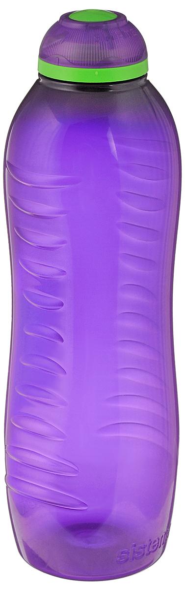 Бутылка для воды Sistema Twist n Sip, цвет: фиолетовый, 620 мл795_фиолетовыйБутылка для воды Sistema Twist n Sip изготовлена из прочного пищевого пластика без содержания фенола и других вредных примесей. Рельефная поверхность бутылки со специальными выемками для удобного хвата. Бутылка имеет удобную запатентованную систему крышки Twist n Sip, которая предотвращает выливание жидкости и в то же время позволяет удобно пить напитки. С такой бутылкой Вы сможете где угодно насладиться Вашими любимыми напитками. Высота бутылки: 16 см.