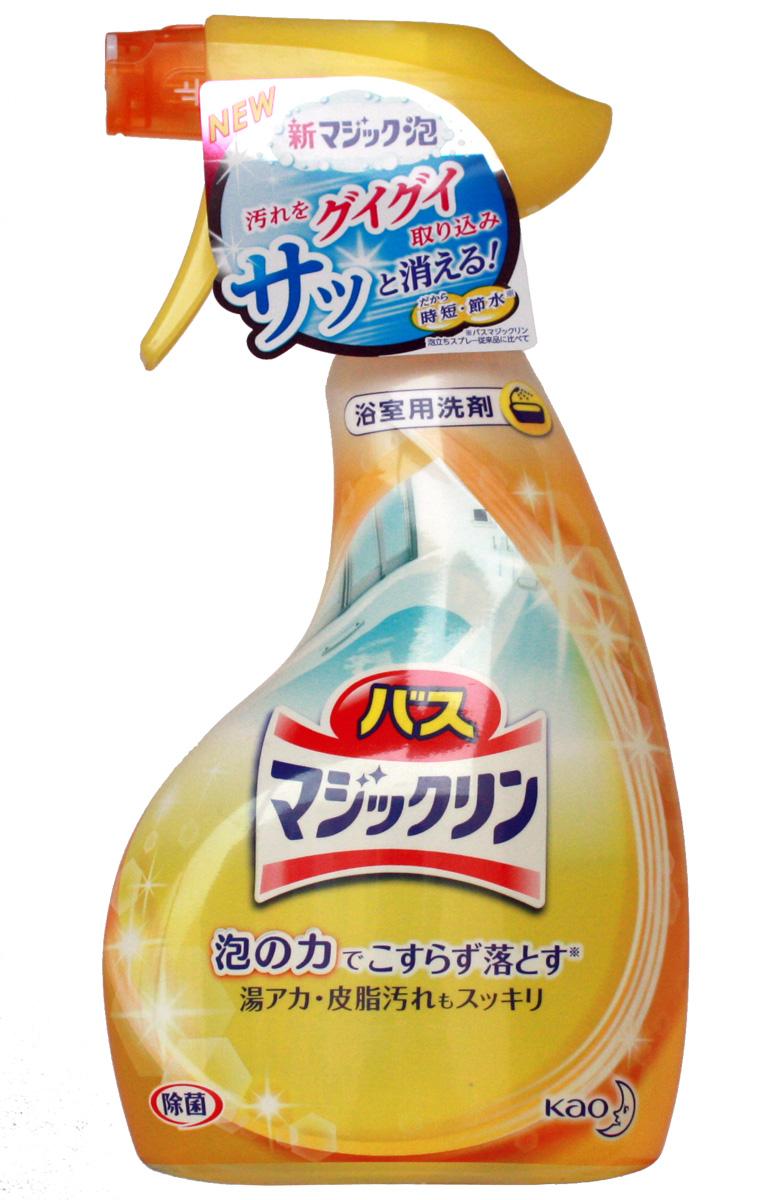 """Чистящее средство """"Magiclean"""" используется при ежедневной уборке в ванной комнате. Средство очищает ванну, раковину, кафельную плитку от всех видов загрязнений. Средство устраняет плесень, ржавчину, въевшиеся   загрязнения.  Не использовать для мраморной поверхности (возможно использование на искусственной мраморной поверхности).      Как выбрать качественную бытовую химию, безопасную для природы и людей. Статья OZON Гид"""