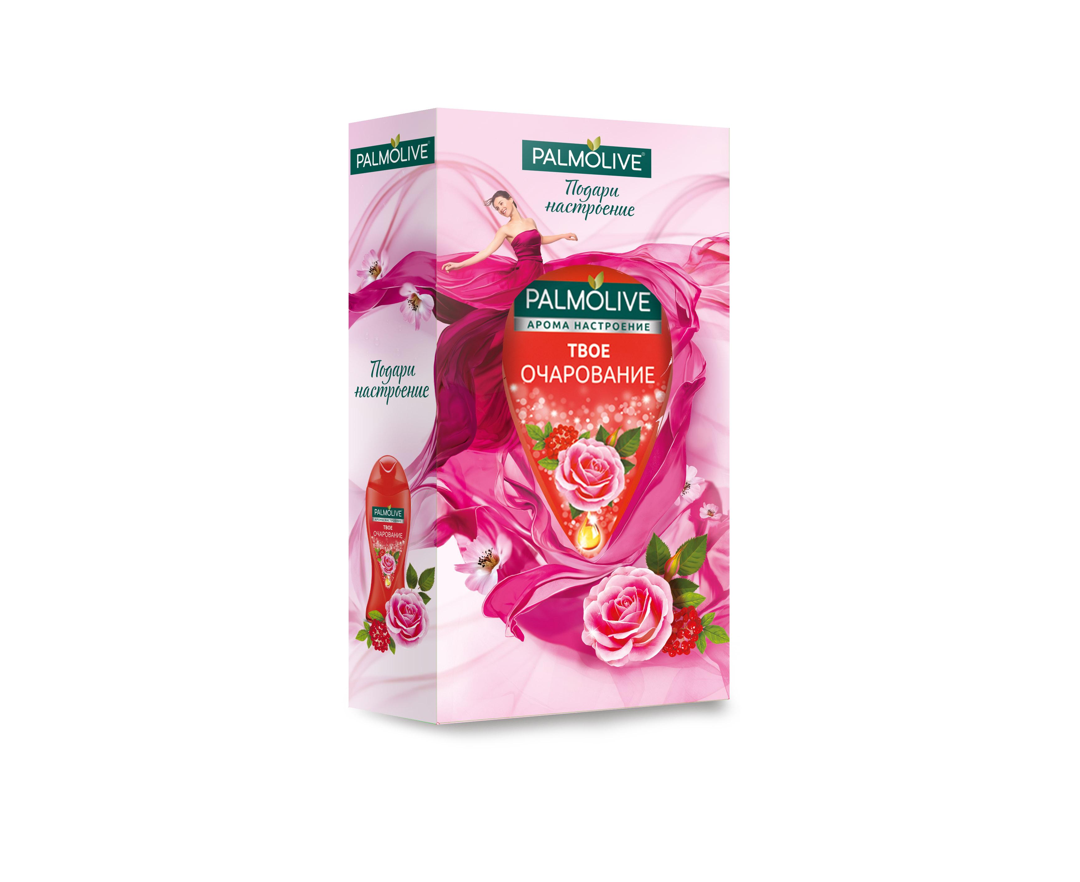Подарочный набор Palmolive Арома Настроение Твое Очарование в косметичке palmolive гель для душа арома настроение твое очарование 250мл