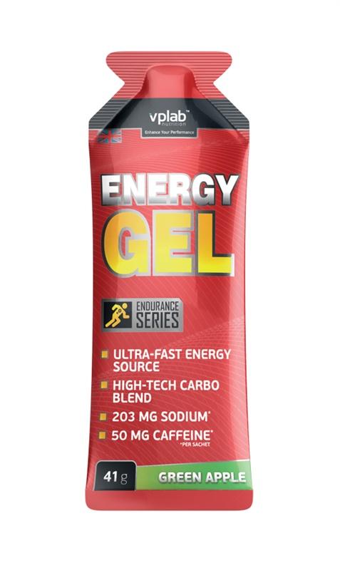 "Энергетик VPLab ""Energy Gel"", кофеин, зеленое яблоко, 41 г, VP Laboratory"