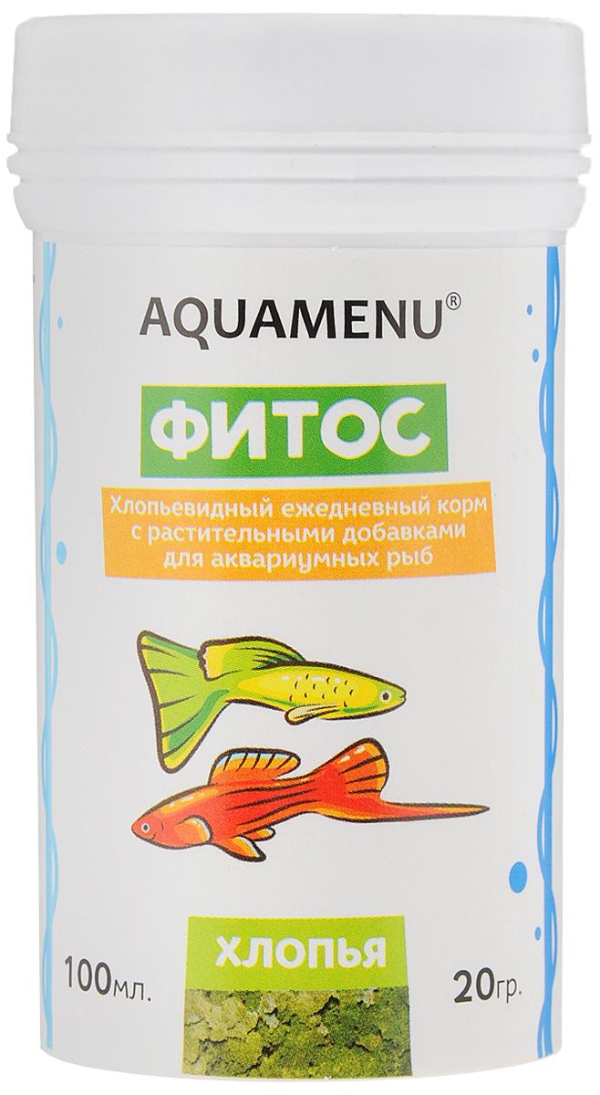 Корм Aquamenu Фитос для аквариумных рыб, с растительными добавками, 100 мл (20 г)00000001138Хлопьевидный корм Aquamenu Фитос предназначен для ежедневного кормления большинства видов аквариумных рыб. Корм производится по современной технологии из натуральных продуктов животного и растительного происхождения методом инфракрасной сушки. Связующие ингредиенты делают корм более экзотичным, ограничивая вымывание питательных веществ, аминокислот и витаминов во время пребывания в воде. Aquamenu Фитос предназначен для ежедневного кормления следующих видов рыб: живородящие карпозубые (гуппи, меченосцы, пециллии и др.), растительноядные африканские цихлиды (трофеусы, псевдотрофеусы, меланохромисы и др.) и сомы (анциструсы, лорикарии и др.). Корм рекомендуется в качестве дополнительного корма и для других видов рыб.Состав: рыбная, пшеничная, соевая, травяная и водорослевая мука, крапива, микроэлементы, витамины A, B1, B2, B3, B4, B5, B6, B7, B8, B12, C, D3, E, K, H и специальные добавки.Товар сертифицирован.