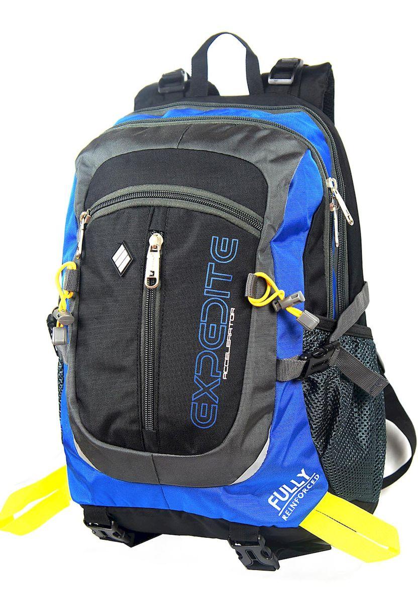 Рюкзак спортивный UFO people, цвет: черно-синий, 23 л. 5509 рюкзак дизайнерский ufo people цвет синий 25 л 09 6