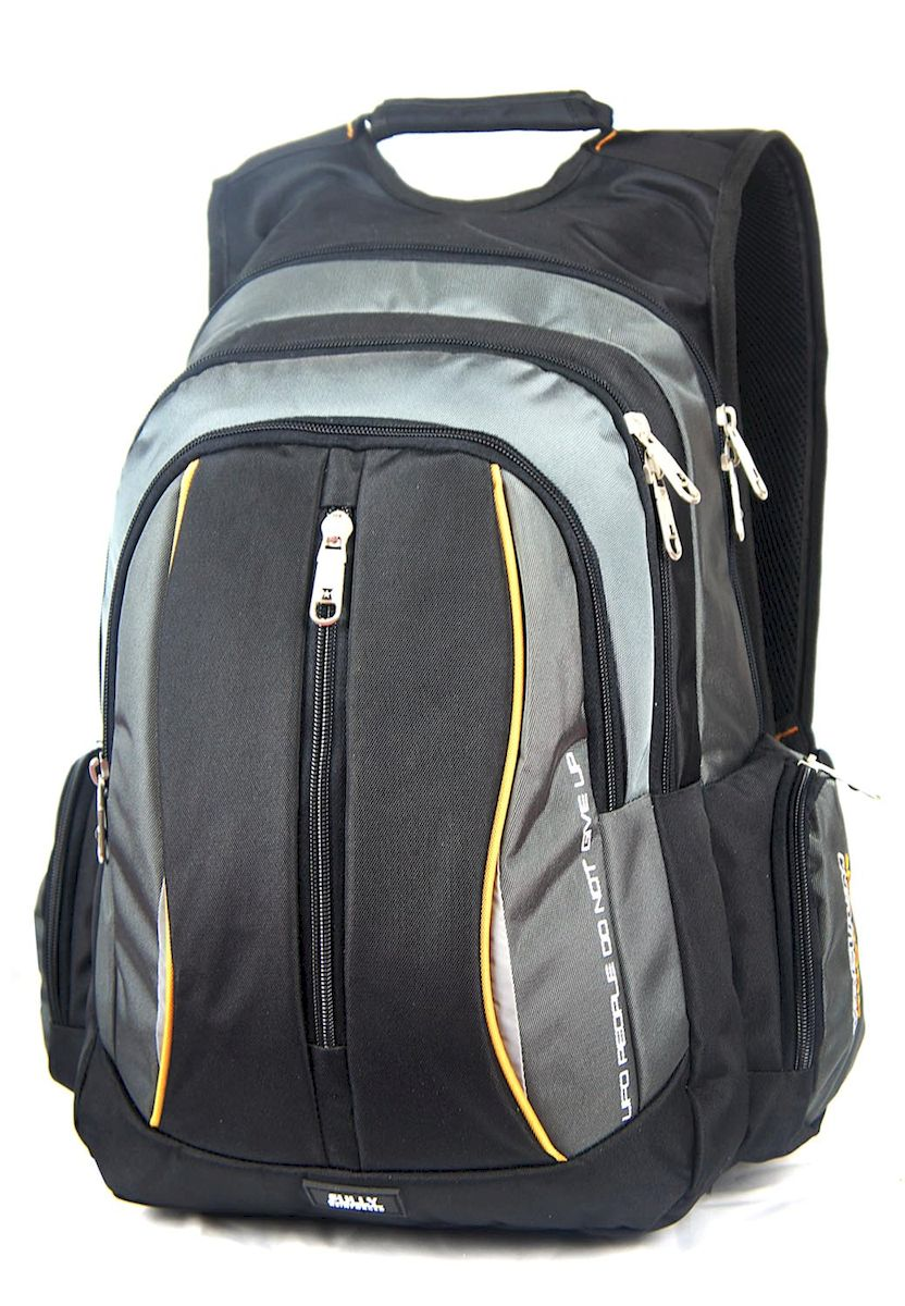 Рюкзак спортивный UFO people, цвет: черно-серый, 25 л. 5533 рюкзак дизайнерский ufo people цвет синий 25 л 09 6