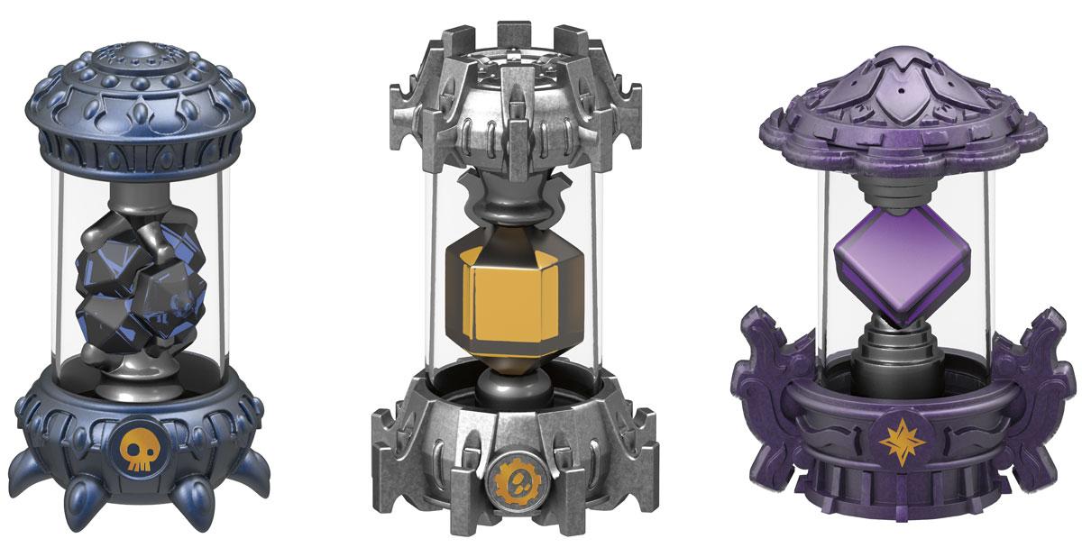 Skylanders Imaginators. Набор из 3 кристаллов стихий Magic, Tech, Undead skylanders spyro s adventure стартовый набор