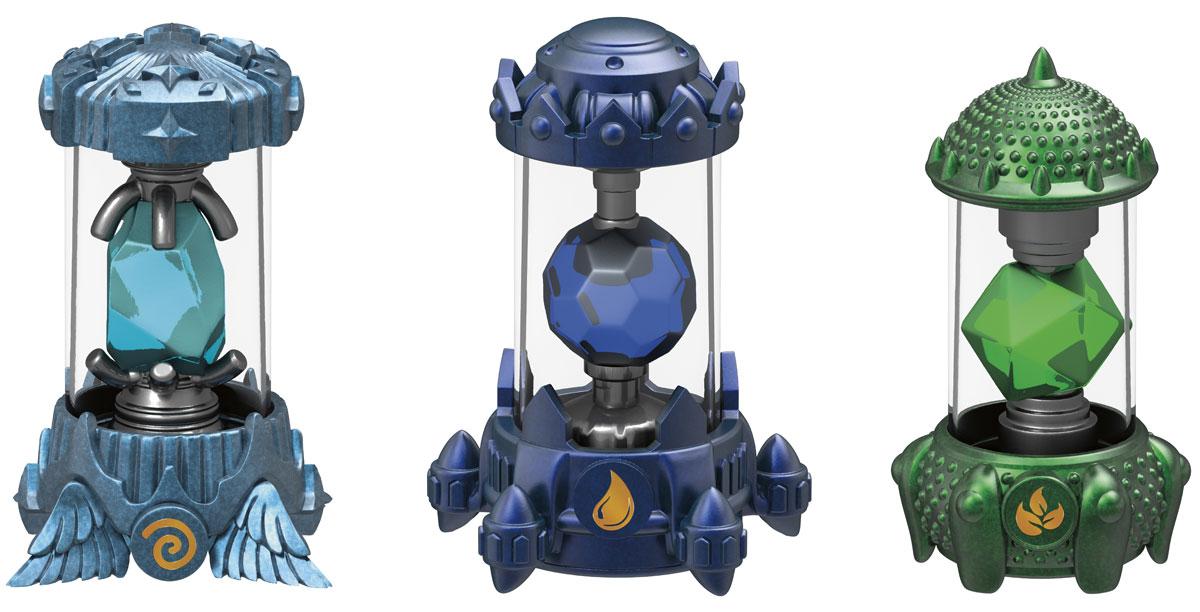 Skylanders Imaginators. Набор из 3 кристаллов стихий Water, Air, Life skylanders spyro s adventure стартовый набор