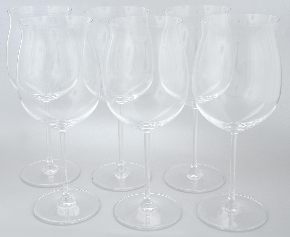 Набор бокалов Pasabahce Vintage, 725 мл, 6 шт66127NНабор Pasabahce Vintage состоит из шести бокалов, выполненных из прочного натрий-кальций-силикатного стекла. Изделия оснащены высокими ножками. Бокалы предназначены для подачи вина. Они сочетают в себе элегантный дизайн и функциональность. Благодаря такому набору пить напитки будет еще вкуснее.Набор бокалов Pasabahce Vintage прекрасно оформит праздничный стол и создаст приятную атмосферу за романтическим ужином. Такой набор также станет хорошим подарком к любому случаю. Можно мыть в посудомоечной машине и использовать в холодильнике.Диаметр бокала по верхнему краю: 8,4 см. Высота бокала: 24,4 см.