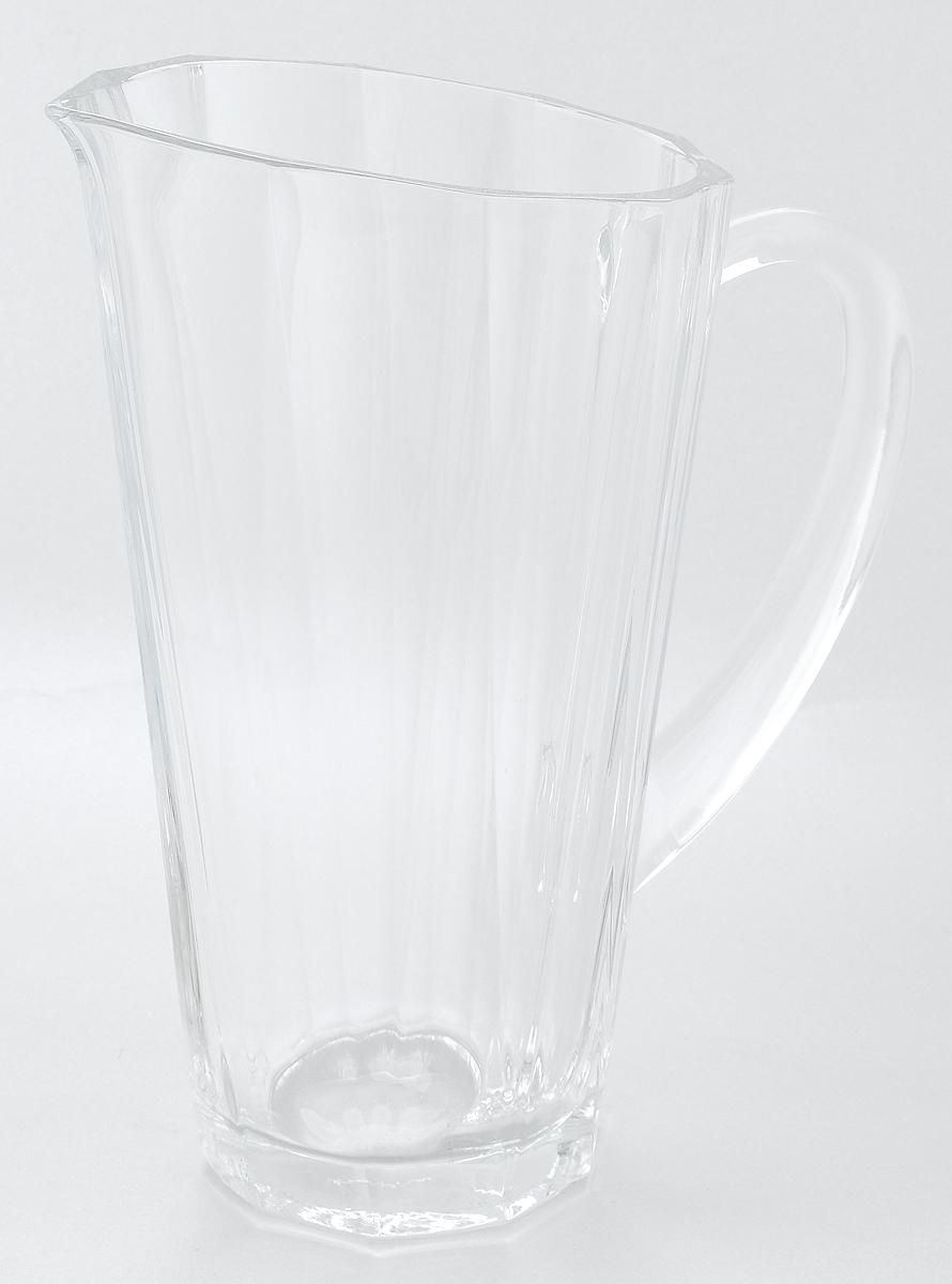 Кувшин Pasabahce Hemingway, с ручкой, 1 л68010NКувшин Pasabahce Hemingway, выполненный из прочного натрий-кальций-силикатного стекла, элегантно украсит ваш стол. Кувшин прекрасно подойдет для подачи воды, сока, компота и других напитков. Изделие оснащено ручкой и специальным носиком для удобного выливания жидкости. Совершенные формы и изящный дизайн, несомненно, придутся по душе любителям классического стиля. Кувшин Pasabahce Hemingway дополнит интерьер вашей кухни и станет замечательным подарком к любому празднику.Можно мыть в посудомоечной машине.Диаметр кувшина по верхнему краю (без учета носика): 11,5 см.Высота кувшина: 23 см.