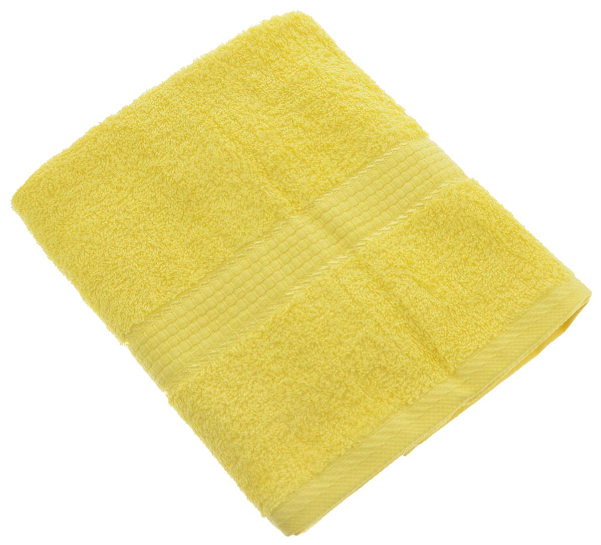 Полотенце Aisha Home Textile, цвет: желтый, 50 х 90 смУзТ-ПМ-112-08-21кПолотенце Aisha Home Textile выполнено из 100% хлопка. Изделие отлично впитывает влагу, быстро сохнет, сохраняет яркость цвета и не теряет форму даже после многократных стирок. Такое полотенце очень практично и неприхотливо в уходе. Оно создаст прекрасное настроение и украсит интерьер в ванной комнате. Полотенце упаковано в красивую коробку и может послужит отличной идеей подарка.