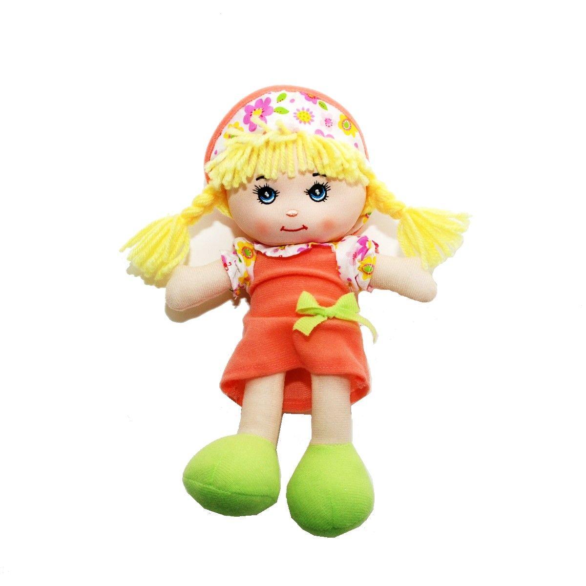Little You Мягкая кукла Кейт цвет одежды оранжевый кукла yako m6579 6