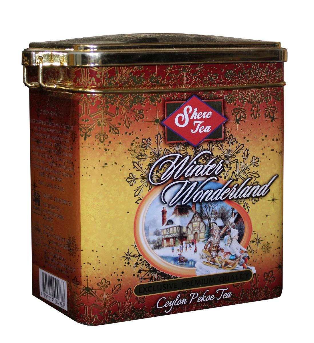 Shere Tea Зимняя страна чудес чай черный листовой, 250 г greenfield чай greenfield классик брекфаст листовой черный 100г