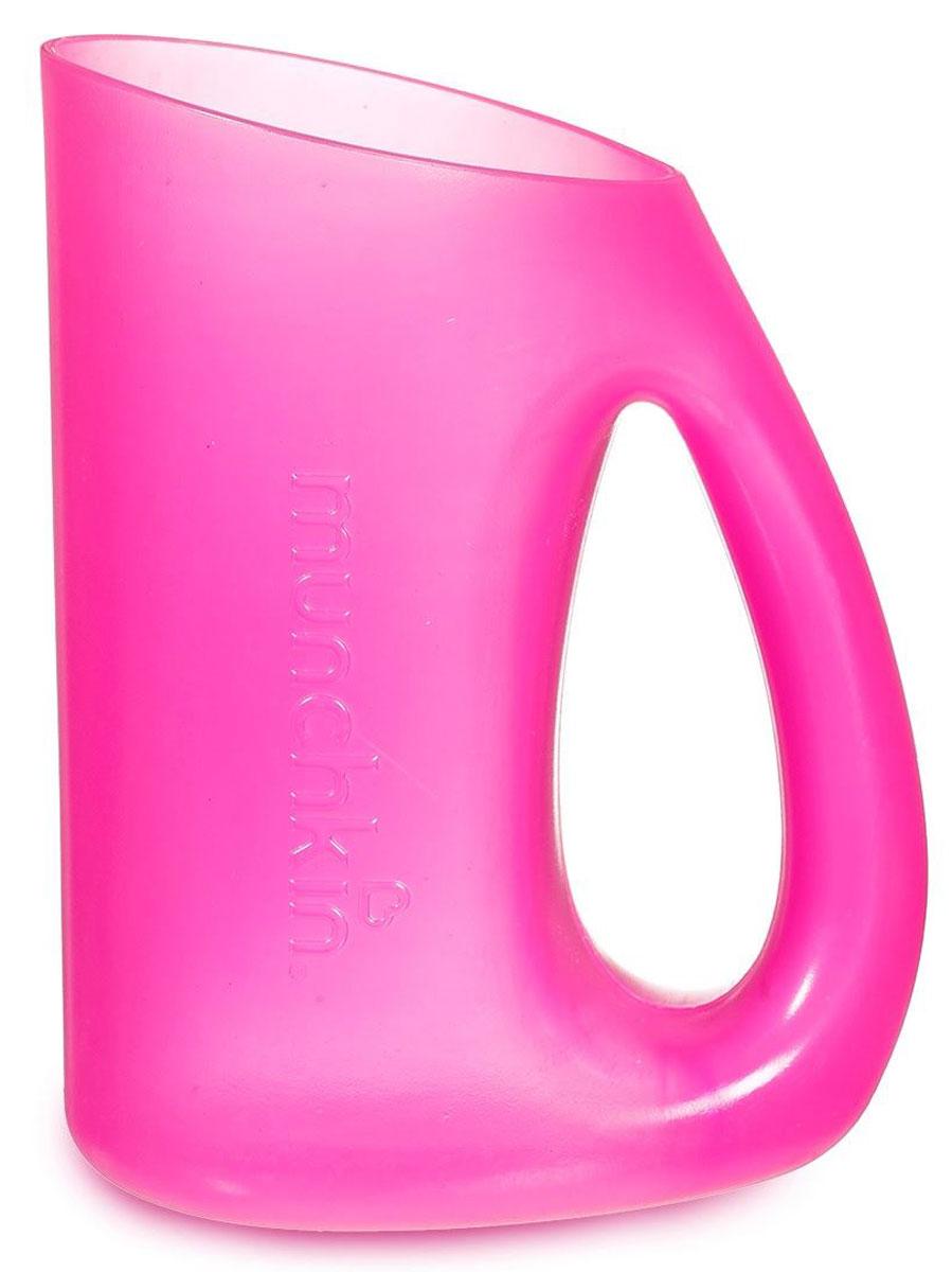 Munchkin Кувшин для мытья волос цвет розовый