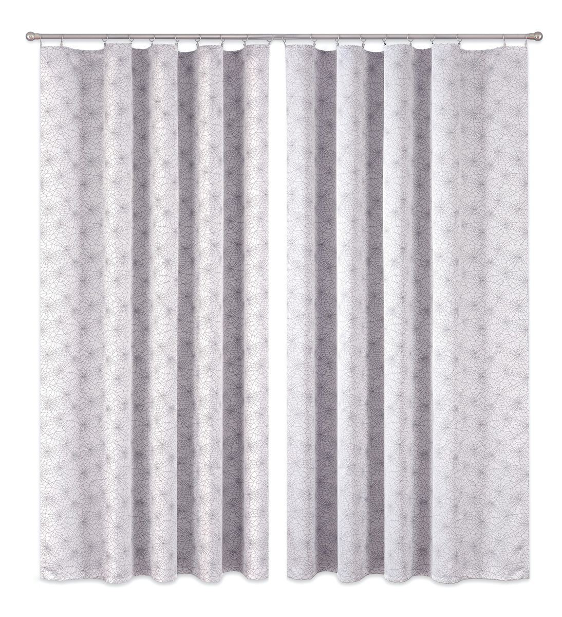 Комплект штор P Primavera Firany, цвет: серый, высота 270 см. 11100021110002Комплект шториз полиэстровой жаккардовой ткани с пришитой шторнойлентой. Размер - ширина 180 см высота 270см. Набор 2 штуки. Цвет серый.Размер: ширина 180 х высота 270