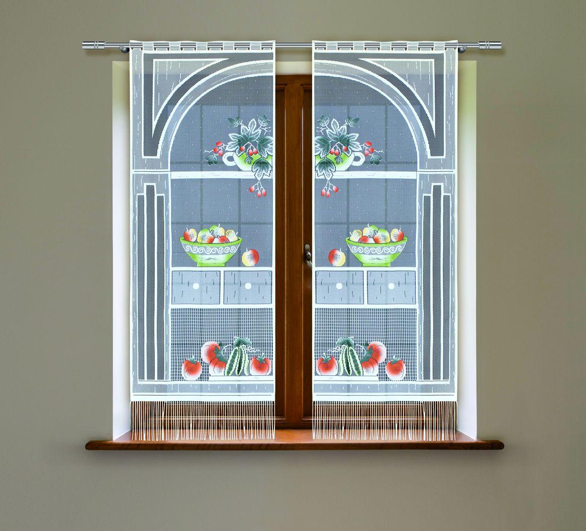 Комплект гардин Haft, на петлях, цвет: белый, высота 160 см, 2 шт. 21494С21494С/60Воздушные гардины Haft великолепно украсят любое окно. Комплект состоит из двух гардин, выполненных из полиэстера.Изделие имеет оригинальный дизайн и органично впишется в интерьер помещения.Комплект крепится на карниз при помощи петель.