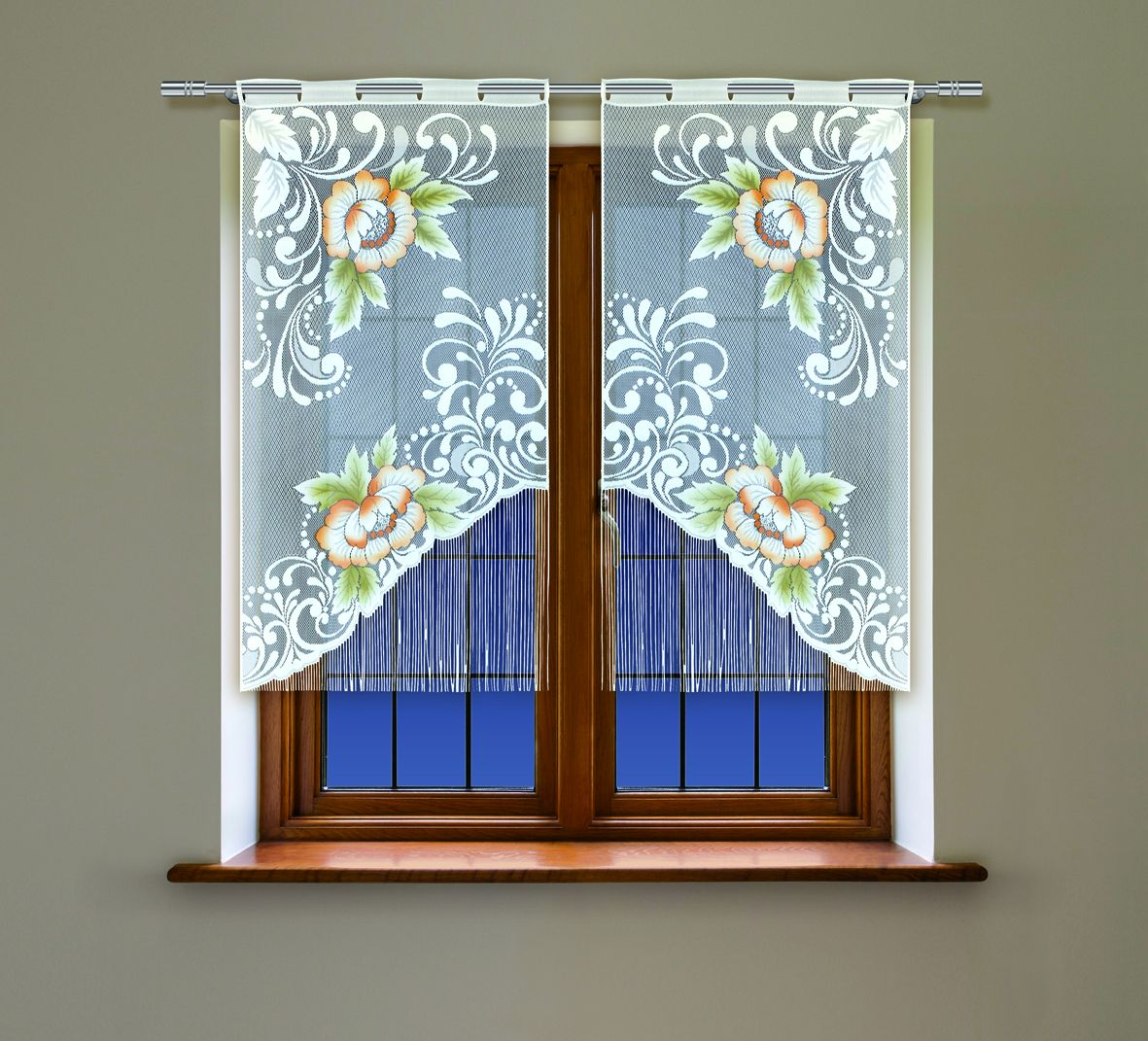 Комплект гардин Haft, на петлях, цвет: белый, высота 160 см, 2 шт. 4219С4219С/60Воздушные гардины Haft великолепно украсят любое окно. Комплект состоит из двух гардин, выполненных из полиэстера.Изделие имеет оригинальный дизайн и органично впишется в интерьер помещения.Комплект крепится на карниз при помощи петель.