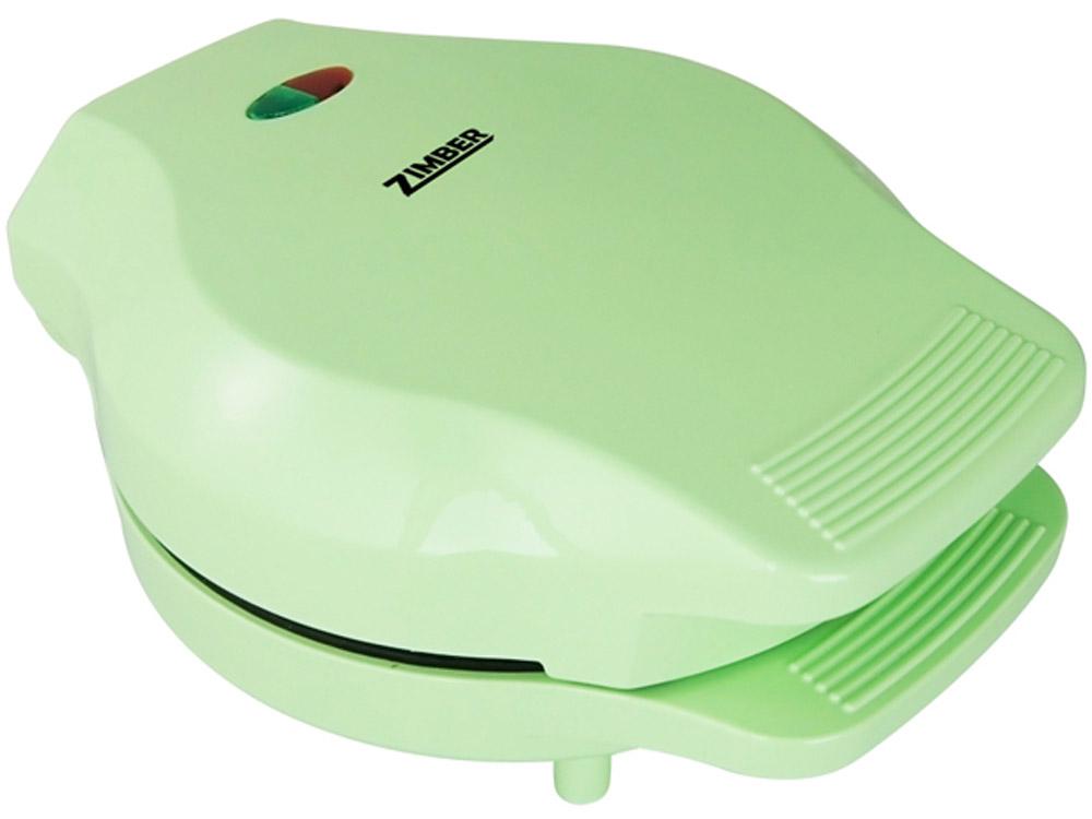 Zimber ZM-10802 кексницаZM-10802Кексница Zimber ZM-10802 — это идеальный выбор для современной кухни, сочетающий отличное качество изготовления и стильный дизайн. Модель предназначена для выпекания вкуснейших капкейков, поэтому она отлично подойдет для приготовления завтраков или десертов. За один раз вы сможете приготовить сразу 7 мини-кексов. Благодаря мощности в 1000 Вт и пластинам с антипригарным покрытием, устройство приготовит ваше любимое блюдо в считанные минуты. Для удобства использования, кексница оснащена фиксатором крышки, контрольными лампами сети/нагрева, термостойким корпусом и нескользящими ножками.