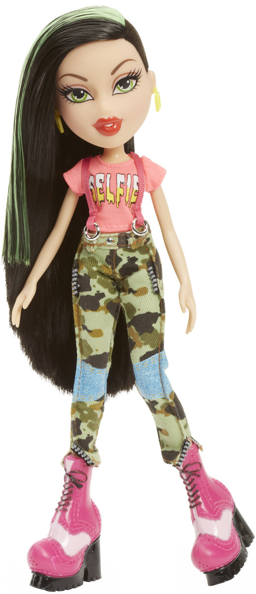 Bratz Кукла Джейд Давай знакомиться цвет одежды розовый хаки bratz кукла джейд