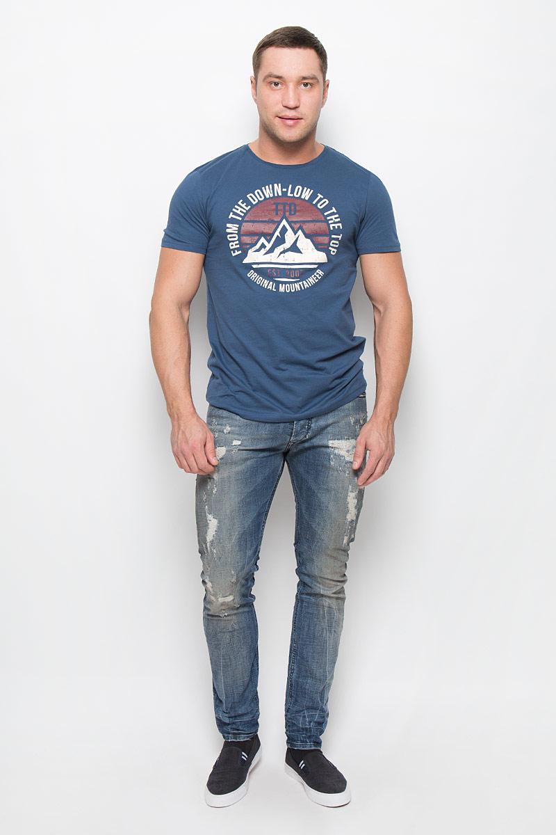 Джинсы мужские Diesel, цвет: синий. 00CKRI-0856X/01. Размер 32-32 (50-32) брюки для дома мужские diesel цвет синий 00sj3i 0damk 05 размер xl 50