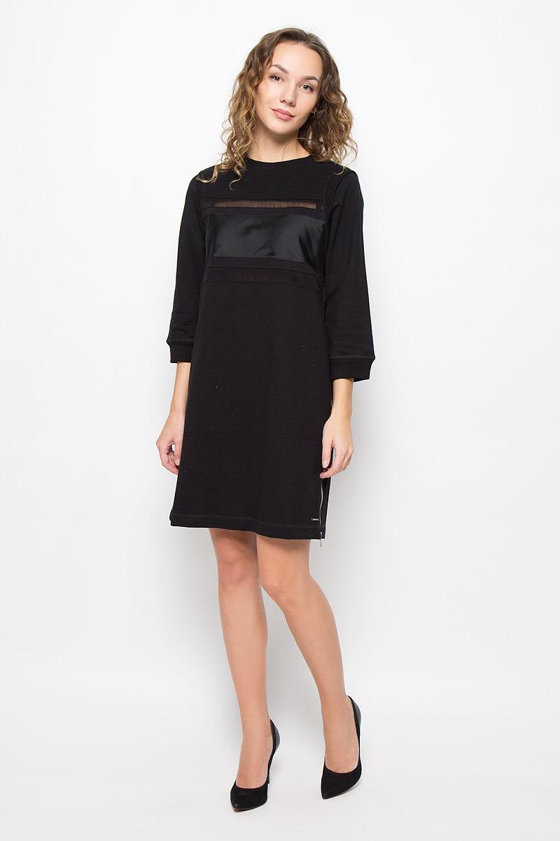 Платье Diesel, цвет: черный. 00STBR-0BAMV/900. Размер XL (52) блузка diesel цвет черный белый 00svv6 0canq 900 размер l 46