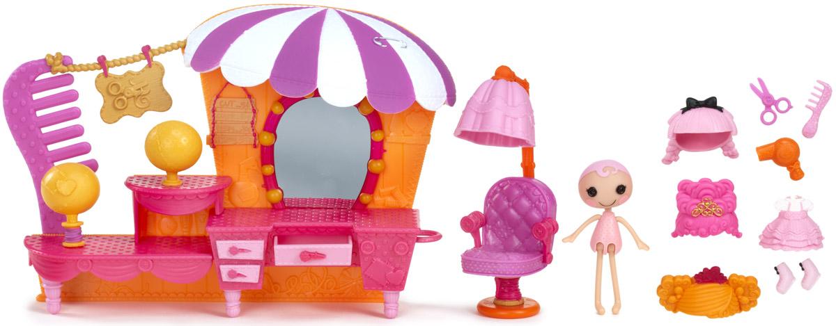 Lalaloopsy Игровой набор с мини-куклой Салон красоты lalaloopsy кукла отличница