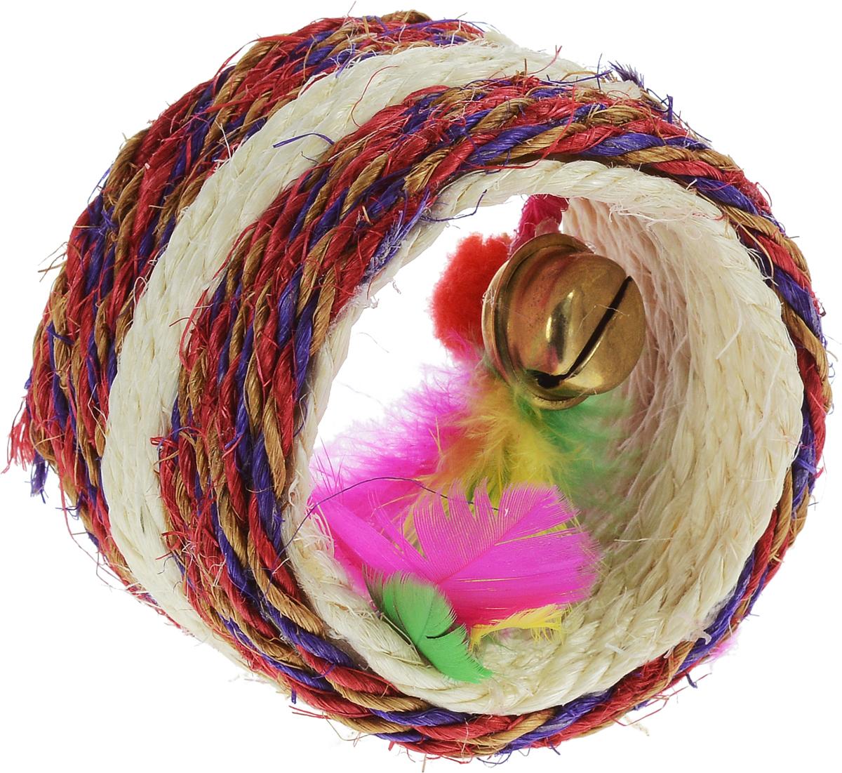 Когтеточка Triol Валик, диаметр 7,5 см когтеточки joy коврик когтеточка для кошек