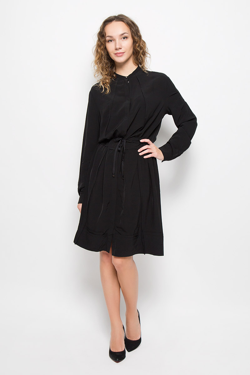 Платье Diesel, цвет: черный. 00SSAU-0BAMU/900. Размер L (50) блузка diesel цвет черный белый 00svv6 0canq 900 размер l 46