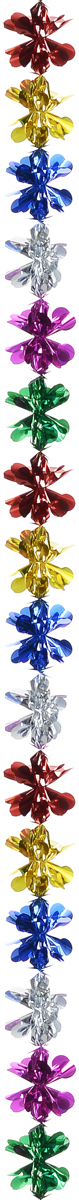 Гирлянда новогодняя Magic Time Разноцветные кружочки, 24 см x 24 см x 2,4 м шахова м даркова ю новогодние елки и игрушки