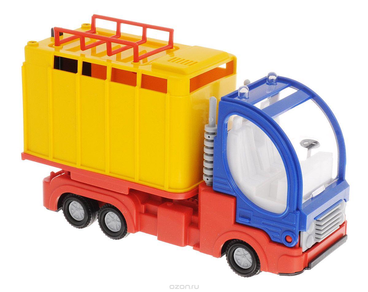 Форма Малый фургон цвет желтый синий форма дорожная машина цвет синий желтый