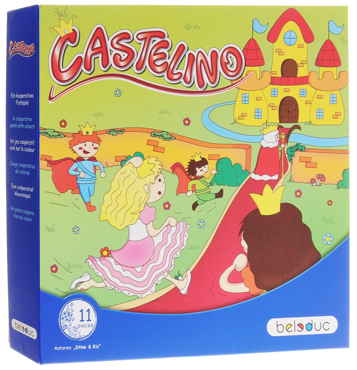 Beleduc Обучающая игра Замок Кастелино bondibon обучающая игра замок загадок нескучный город