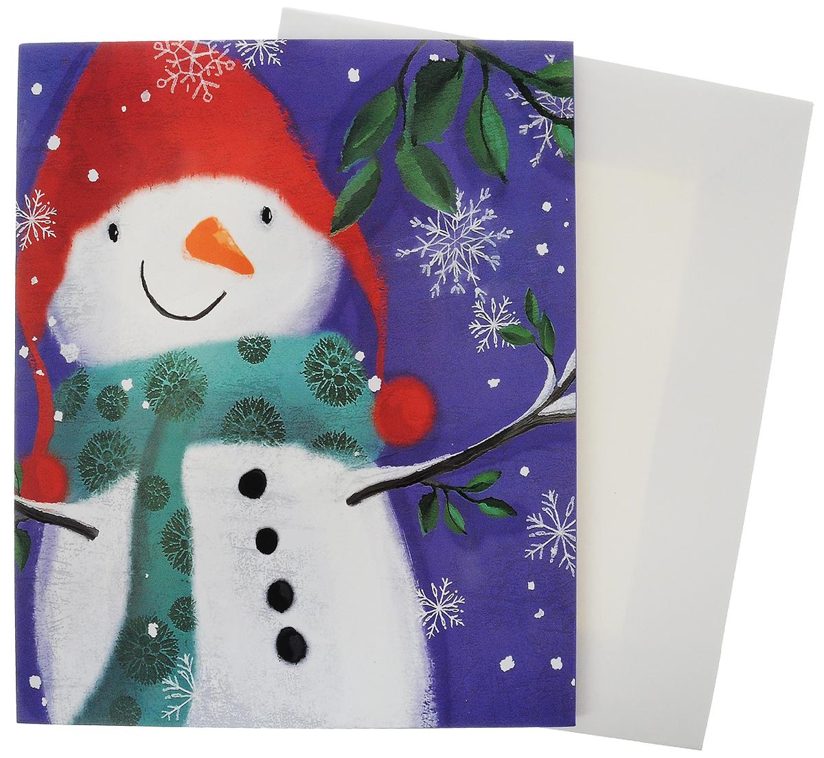 Коробка подарочная Winter Wings, 32 х 26 х 5 смN14062Подарочная коробка Winter Wings выполнена избумаги. Крышка оформлена изображением снеговика. Подарочная коробка - это наилучшее решение, если вы хотите порадовать вашихблизких и создать праздничное настроение, ведь подарок, преподнесенный воригинальной упаковке, всегда будет самым эффектным и запоминающимся.Окружите близких людей вниманием и заботой, вручив презент в нарядном,праздничном оформлении.