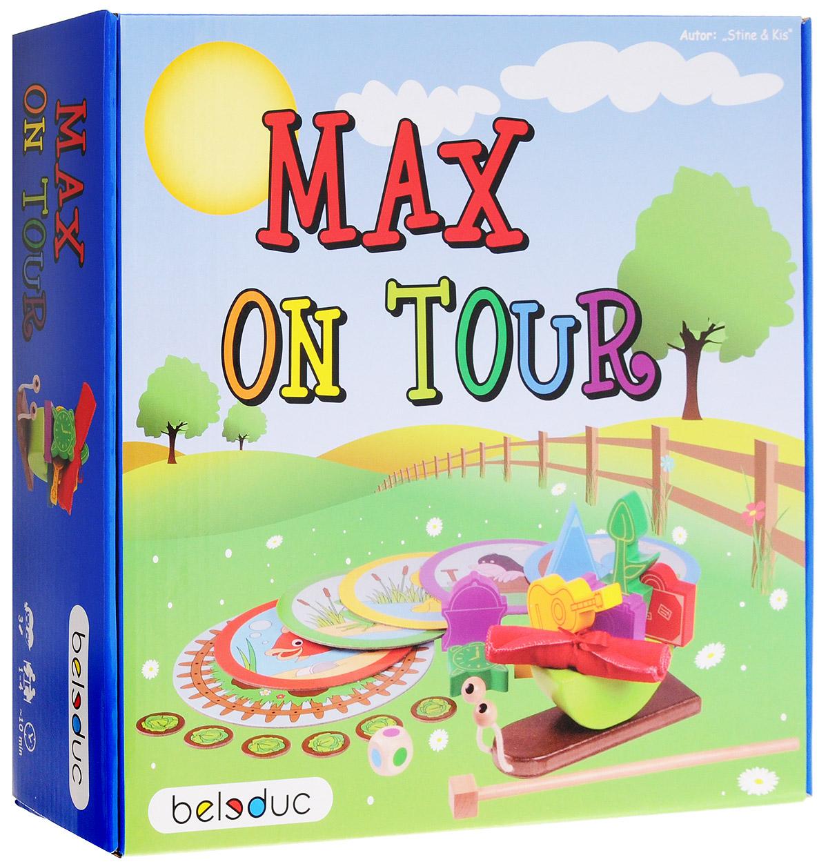 Beleduc Обучающая игра Путешествие Макса play land обучающая игра кругосветное путешествие