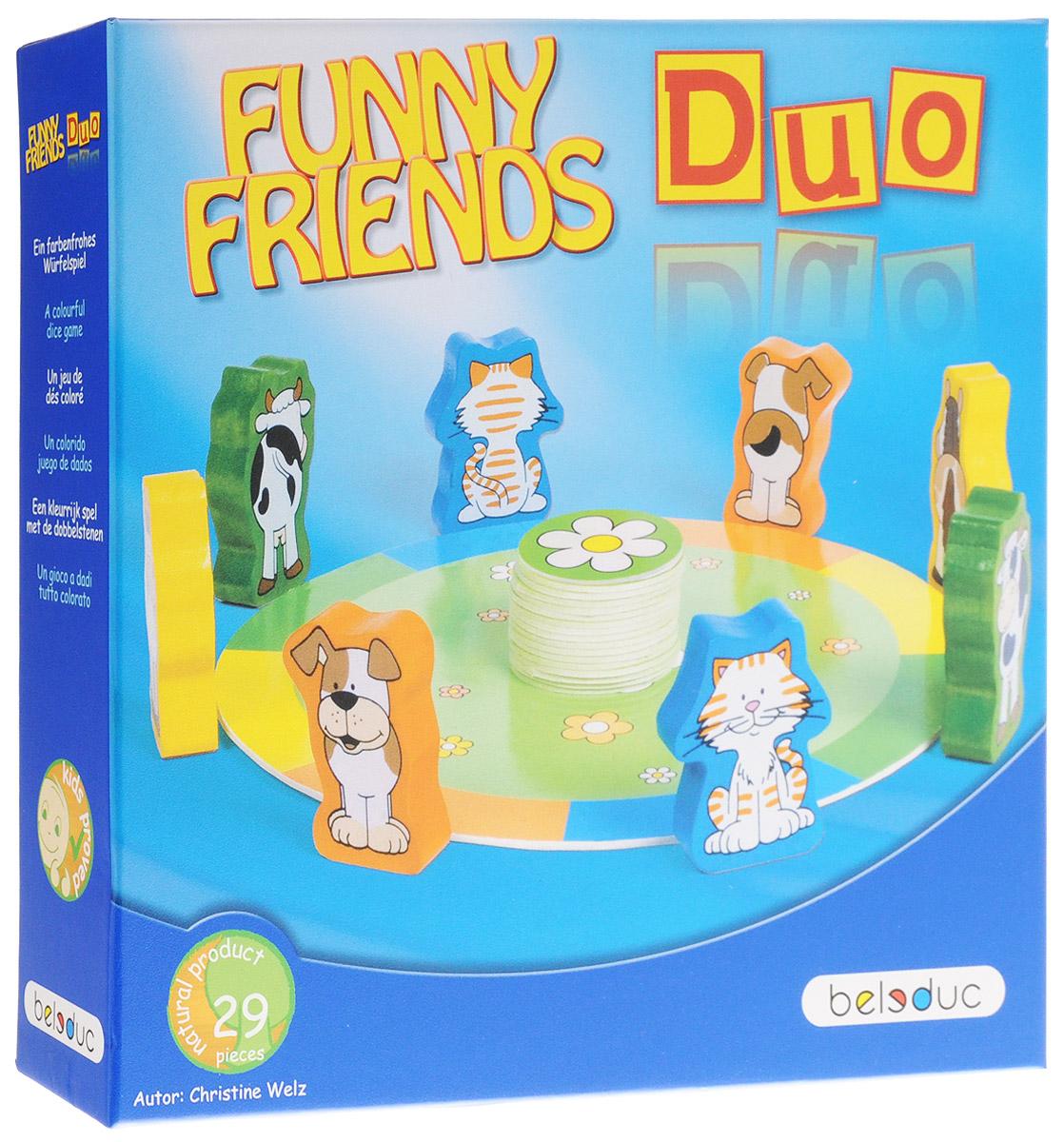 Beleduc Обучающая игра Веселые друзья Дуо