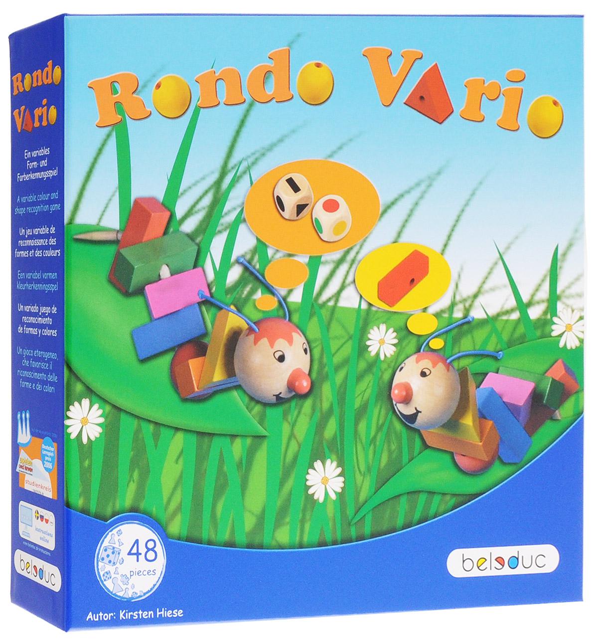 Beleduc Обучающая игра Рондо Варио 22391 beleduc обучающая игра тропикана
