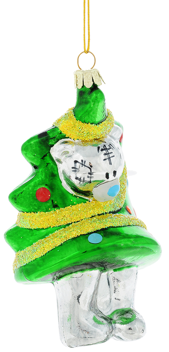 Украшение новогоднее подвесное Winter Wings Me To You. Мишка Тедди, высота 11 см панно winter wings me to you мишка с подарками 63 х 55 см