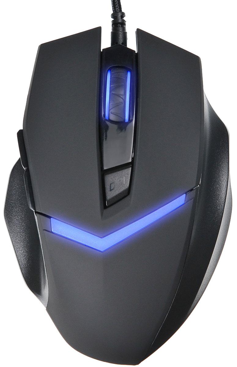 Oklick 825G, Black мышь игровая359379Мышь Oklick 825G имеет эргономичный дизайн, позволяющий с комфортом проводить долгое время за игрой. Эффектная подсветка придает мыши индивидуальность. Кабель имеет прочную, устойчивую к истиранию оплетку. Не требует установки драйверов.