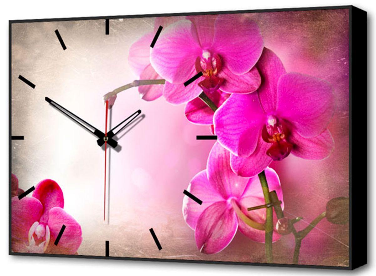 Часы-картина Toplight Цветы, 60 х 37 см. TL-C5020TL-C5020Настенные часы-картина Toplight Цветы выполнены из бумаги и оргалита, рама из МДФ. Часы имеют кварцевый механизм с плавным, бесшумным ходом и три стрелки: часовую, минутную и секундную. Современные технологии и цифровая печать, используемые в производстве, делают постер устойчивым к выцветанию и обеспечивают исключительное качество произведений. Благодаря наличию необходимых креплений в комплекте установка не займет много времени. Часы-картина Toplight - это прекрасная возможность создать яркий акцент при оформлении любого помещения.Правила ухода: можно протирать сухой, мягкой тканью. Часы работают от 1 батарейки типа АА (не входит в комплект).