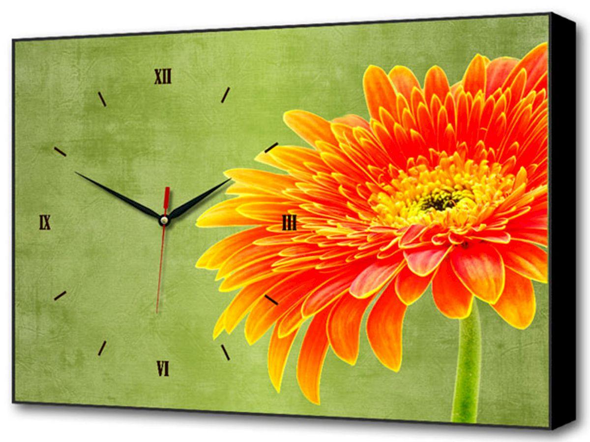 Часы-картина Toplight Цветы, 60 х 37 см. TL-C5032TL-C5032Настенные часы-картина Toplight Цветы выполнены из бумаги и оргалита, рама из МДФ. Часы имеют кварцевый механизм с плавным, бесшумным ходом и три стрелки: часовую, минутную и секундную. Современные технологии и цифровая печать, используемые в производстве, делают постер устойчивым к выцветанию и обеспечивают исключительное качество произведений. Благодаря наличию необходимых креплений в комплекте установка не займет много времени. Часы-картина Toplight - это прекрасная возможность создать яркий акцент при оформлении любого помещения.Правила ухода: можно протирать сухой, мягкой тканью. Часы работают от 1 батарейки типа АА (не входит в комплект).