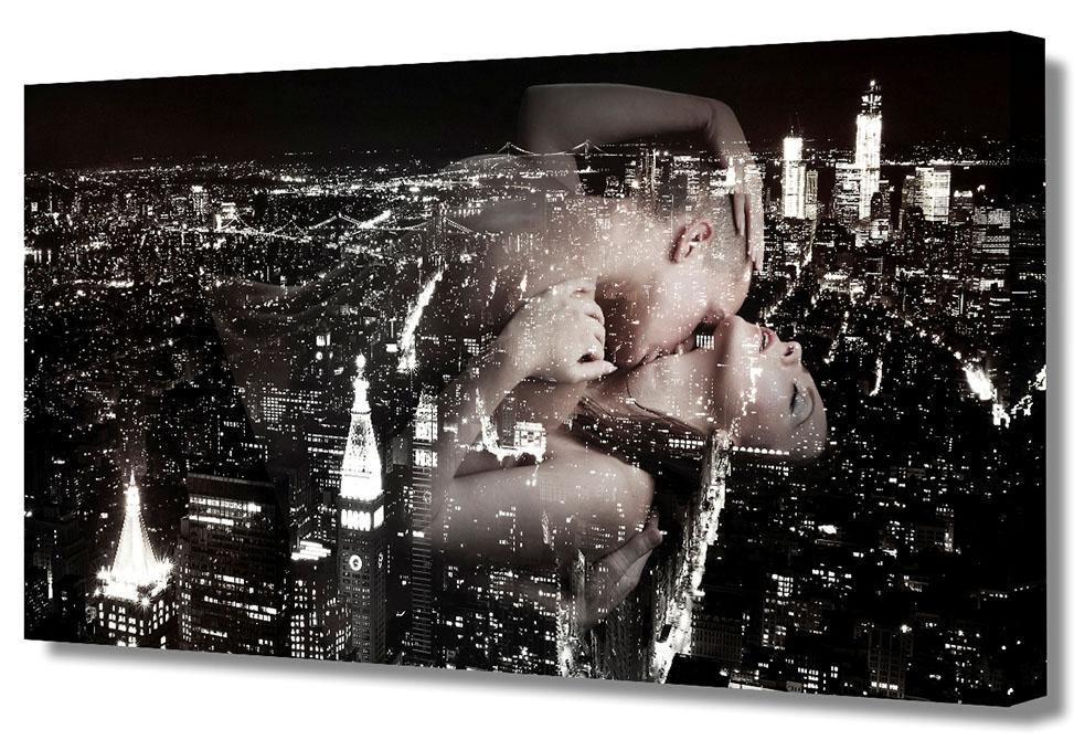 """Холст Toplight """"Коллаж"""" выполнен из синтетического полотна, подрамник из МДФ.  Изделие выглядит очень аккуратно и эстетично благодаря такому способу оформления как галерейная натяжка. Подрамник исключает провисание полотна.  Современные технологии, уникальное оборудование и цифровая печать, используемые в производстве, делают постер устойчивым к выцветанию и обеспечивают исключительное качество произведений.  Благодаря наличию необходимых креплений в комплекте установка не займет много времени.  Холст Topligh - это прекрасная возможность создать яркий акцент при оформлении любого помещения.   Правила ухода: можно протирать сухой, мягкой тканью.  Толщина подрамника: 3 см."""