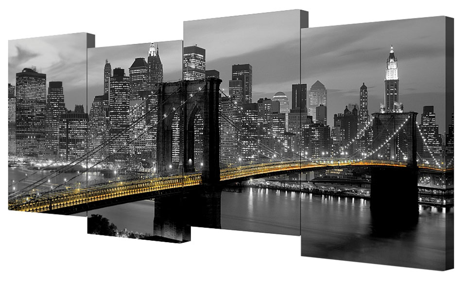 Картина модульная Toplight Город, 200 х 75 см. TL-M2017TL-M2017Модульная картина Toplight Город выполнена из синтетического полотна, подрамник из МДФ. Картина состоит из четырех частей и выглядит очень аккуратно и эстетично благодаря такому способу оформления как галерейная натяжка. Подрамник исключает провисание полотна. Современные технологии, уникальное оборудование и цифровая печать, используемые в производстве, делают постер устойчивым к выцветанию и обеспечивают исключительное качество произведений. Благодаря наличию необходимых креплений в комплекте установка не займет много времени. Модульная картина - это прекрасная возможность создать яркий акцент при оформлении любого помещения. Изделие обязательно привлечет внимание и подарит немало приятных впечатлений своим обладателям. Правила ухода: можно протирать сухой, мягкой тканью. Рекомендованное расстояние между сегментами: 2 см. Толщина подрамника: 3 см.