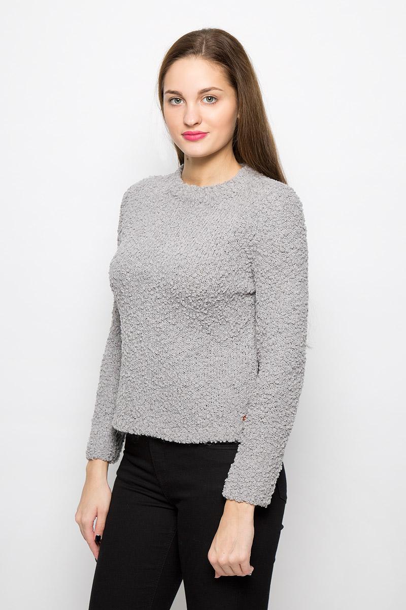 Джемпер женский Tom Tailor, цвет: серый. 3021834.00.71_2707. Размер XS (42)