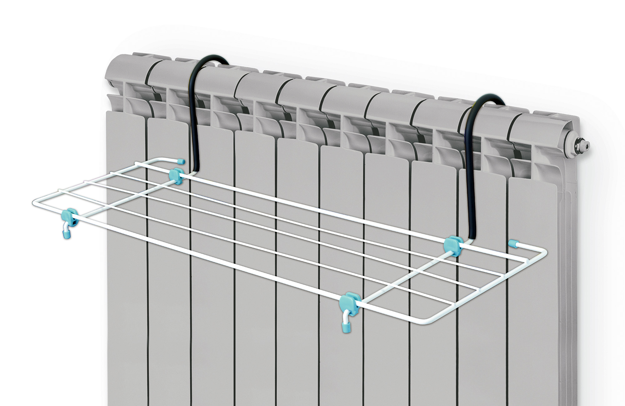 Сушилка для белья Nika, на батарею, цвет: белый, 62 х 23,5 смСБ5-65Сушилка для белья Nika предназначена для просушки одежды и обуви. Изделие устанавливается на батареи любой конфигурации. Сушилкаизготовлена из прочного и окрашенного метала с элементами пластика. Сушилка безопасна в использовании, так как все края надежнозаделаны специальными заглушками.Общая длина сушильного полотна: 3.1 м. Максимальная нагрузка: 5 кг. Размер сушилки: 65 х 23,5 см.