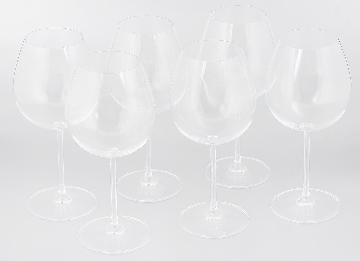 Набор бокалов для вина Pasabahce Vintage , 690 мл, 6 шт66126NНабор Pasabahce Vintage, выполненный из бессвинцового стекла, состоит из шестибокалов. Изделия предназначеныдля подачи вина. Они сочетают в себе элегантныйдизайн и функциональность. Набор бокалов Pasabahce Vintage прекраснооформит праздничный стол и создаст приятнуюатмосферу за романтическим ужином. Такой набортакже станетхорошим подарком к любому случаю.Можно мыть в посудомоечной машине.Диаметр бокала (по верхнему краю): 7 см.Высота бокала: 23 см.